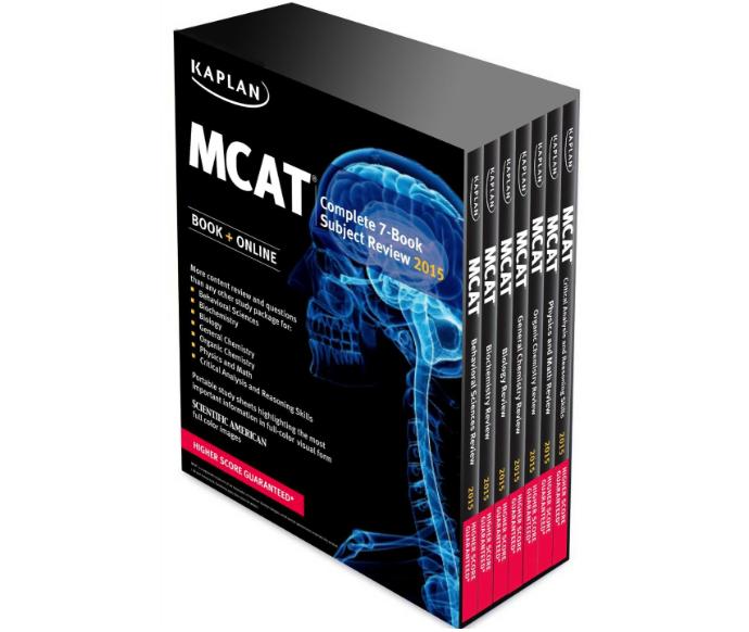 Kaplan MCAT Complete 7 Book Subject Review – MCAT 2015